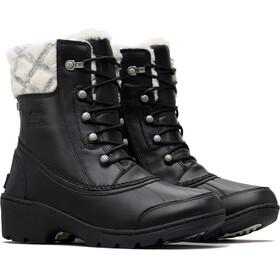 Sorel Whistler Mid-Cut Stiefel Damen black/natural